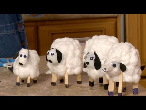 How to Make Paper Cup Lambs | Sophie's World