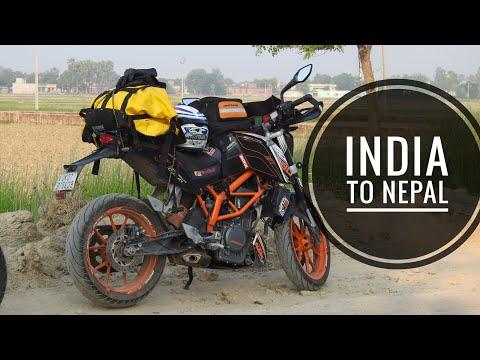 India to Nepal bike ride    lucknow to nepal   india to nepal on bike   wolvesonwheels
