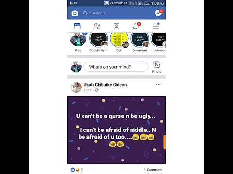 How to find a draft post on your Facebook mobile app
