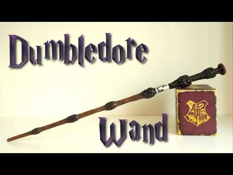 Albus Dumbledore Wand DIY