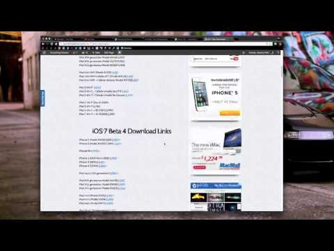 iOS 7 Beta 5 Free Direct Downloads LATEST UPDATED 2013