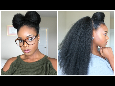 NATURAL HAIRSTYLES WITH BRAIDING HAIR - Ify Yvonne