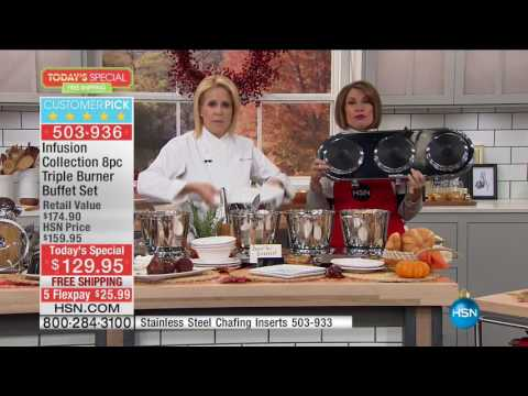 HSN | Holiday Cooking & Entertaining 10.31.2016 - 11 AM