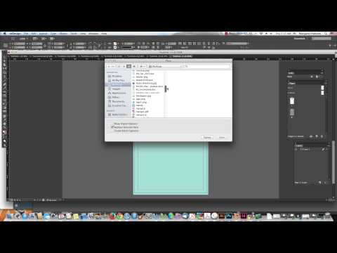Creating a Business Card with InDesign