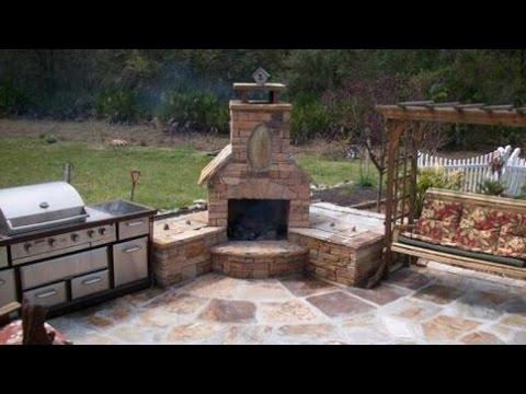 Outdoor Corner Fireplaces
