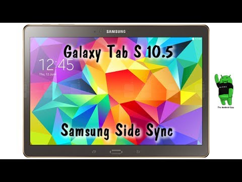 Samsung SideSync - Mirroring Your Phone to Your Tablet