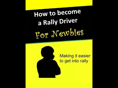 How to become a rally driver part 1 - Where to begin