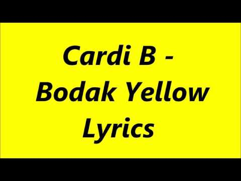 24b887587e96 Bodak yellow lyrics song - PakVim.net HD Vdieos Portal