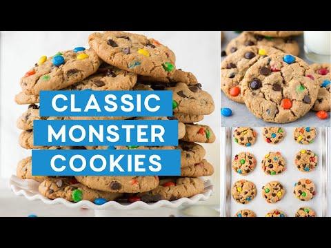 Classic Monster Cookies