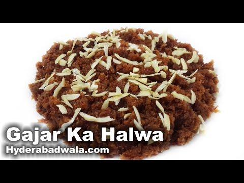Gajar Ka Halwa Recipe Video – How to Make Hyderabadi Carrot Sweet Dessert Pudding at Home–Very Easy