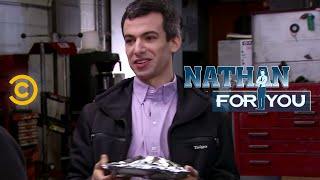 Nathan For You - Mechanic - The Cookie Test