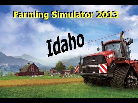 Farming Simulator 2013 Idaho Map Ep 5 selling straw and the farmer's daughter