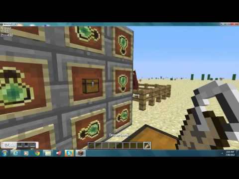 Creative Tutorials Ep. 1 How to make an upsidedown Horse in minecraft