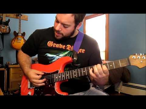 Jon Poulin - My Fingers Hurt (Guitar Playthrough)