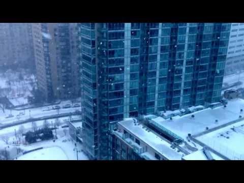 Snow at Newport, Jersey City