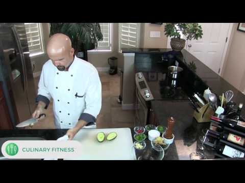 How to cut an Avocado with Chef Dennis Berry | Healthy Cooking Videos