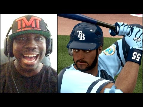 MLB 14 The Show Road to the Show PS4 - 1st Ever MLB FaceCam - Trying to Hit a Homer LIVE!