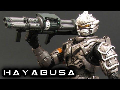 McFarlane Halo 3 STEEL HAYABUSA Figure Review