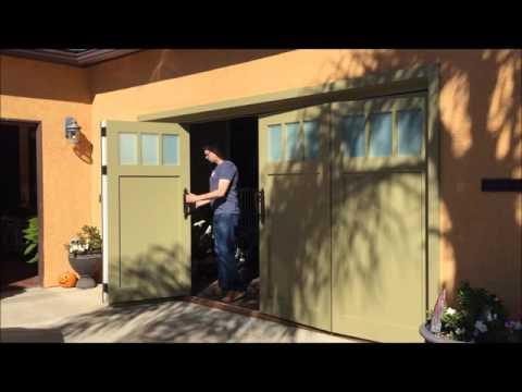 Sliding Bi-fold Carriage Garage Doors San Diego