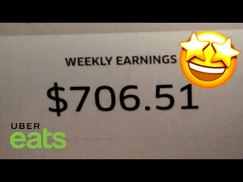 I MAKE $700 A WEEK ON UBEREATS