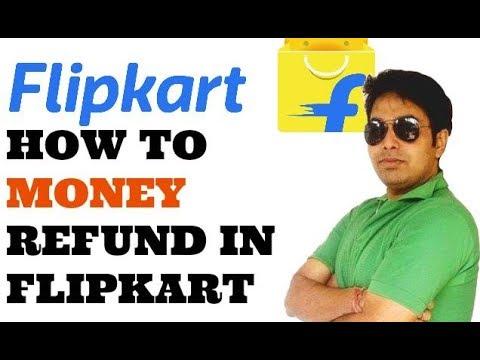 HOW TO MONEY REFUND IN FLIPKART