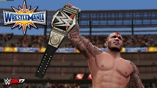 WWE 2K17 Wrestlemania 33 - Bray Wyatt vs Randy Orton WWE Championship Match