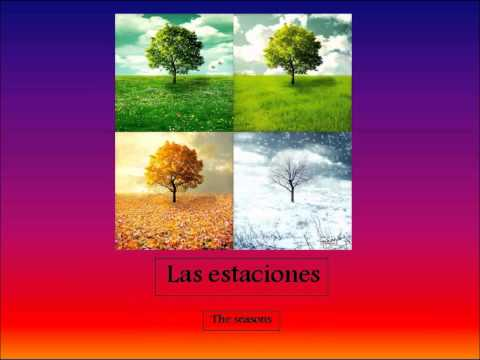 Spanish I Lesson: Months, Seasons, and Giving Dates