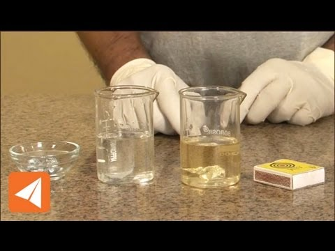 Metals react with acids to produce salt and Hydrogen   Acid & Bases   Chemistry