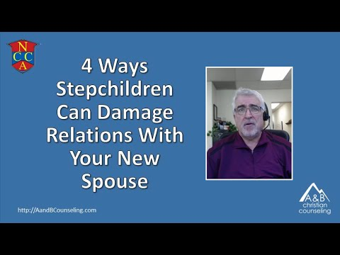 4 Ways Stepchildren Damage Relations With Your New Spouse