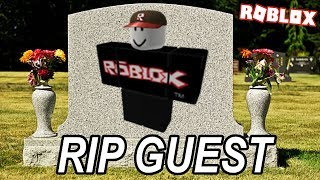 My tribute to the removal to the ROBLOX guest *emotional* RIP