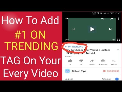 Add Trending Now | #1 On Trending worldwide To Your Video