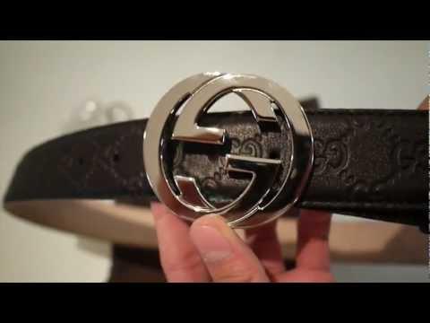 Interlocking G Gucci Belt Review HD