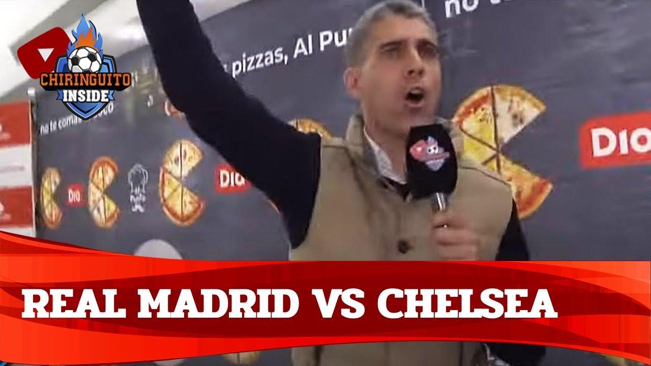REAL MADRID - CHELSEA con EL CHIRINGUITO | Semifinal Champions League ida