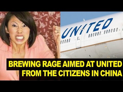 People in China VERY Upset at United Airlines