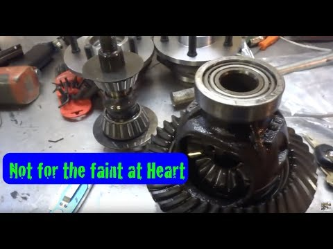 Pinion and Bearing Removal and Install New Bearing Races