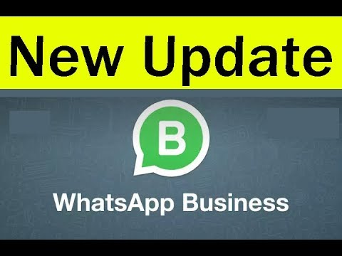 2018-New Whatsapp Update & Features  Whatsapp Business App-How To Use(Create Account/Sign Up)