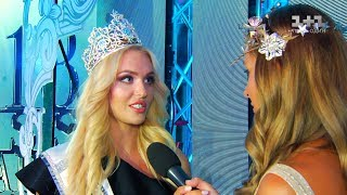 Karina Zhosan is Miss Universe Ukraine 2018
