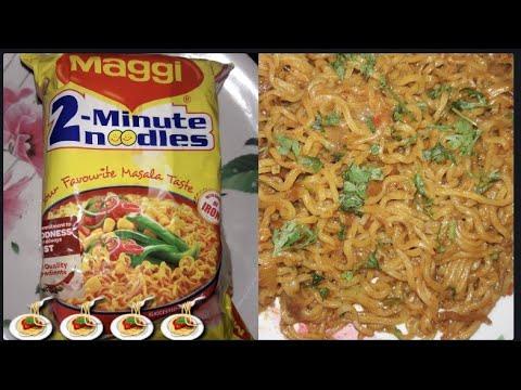 Maggi masala noodles/ maggi masala noodles recipe in Kannada/maggi masala noodles recipe in at home