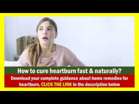 home remedies for heartburn and gas - quick heartburn remedies