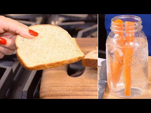 How to Revive Foul-Looking Food Like Carrots, Lettuce And Bread