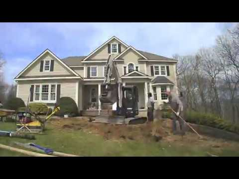 How to Do a Front Yard Make-Over with New Steps, a Walkway and Drainage