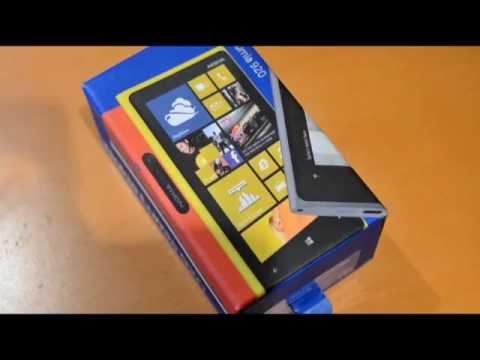 Nokia Lumia 920 Unboxing (Rogers)