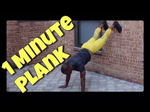 How to do a Wall Plank | Insane Core 6 Pack Abs Fitness Workout