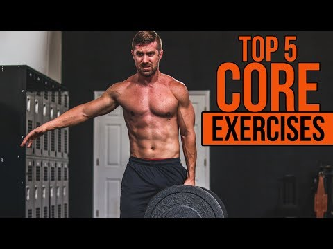 TOP 5 Core Exercises for Men - NO Crunches or Sit Ups!