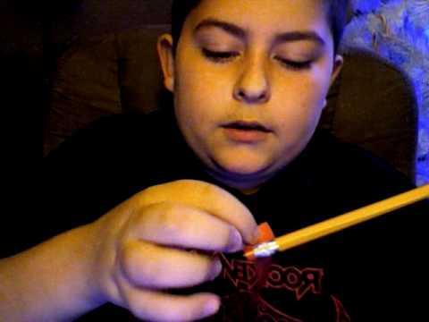 How to make a pencil bow & arrow