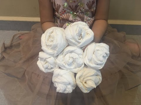 DIY QUICK n EASY Tissue Paper Roses, Flowers for Mother's Day, Valentine's Day, Tissue Flowers