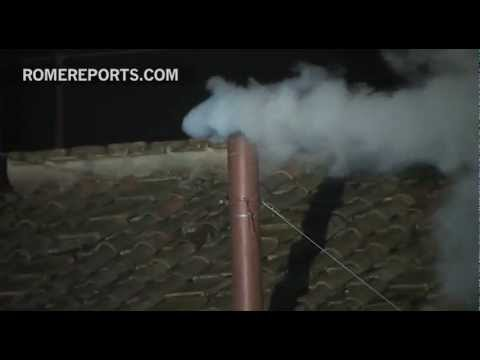 White Smoke! Pope has been elected