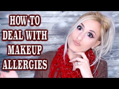 HOW TO deal with makeup allergies || DYNA