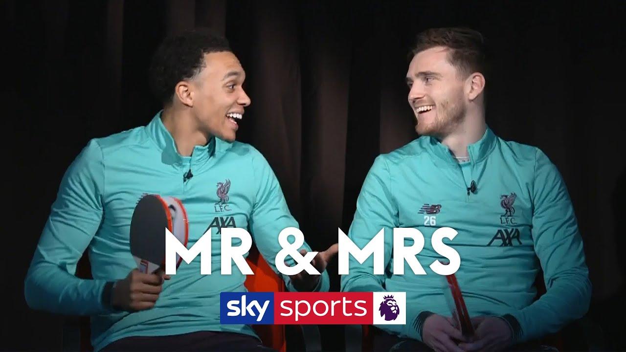 Who is Jurgen Klopp's favourite - Trent or Robbo? | Mr & Mrs