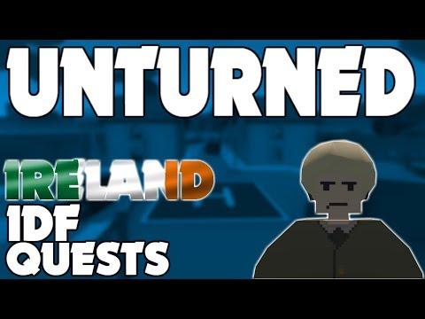 IRELAND IDF QUESTS! (Unturned)